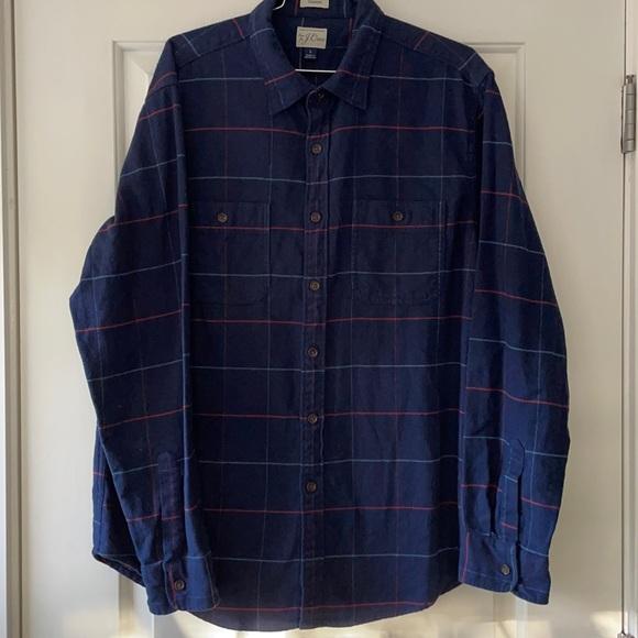 J. crew classic fit men's flannel
